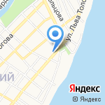 Общественная приемная депутата Думы Астраханской области Седова И.Ю. на карте Астрахани