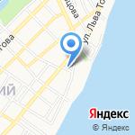 АВАНГАРД-ТКФ на карте Астрахани