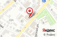 Схема проезда до компании ФорпостЪ в Астрахани