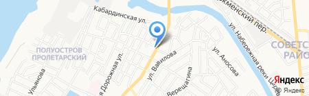 Пожарная безопасность на карте Астрахани