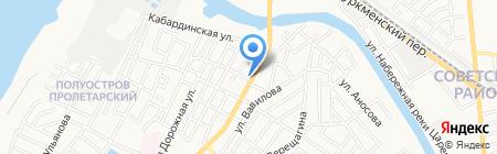 Огни большого праздника на карте Астрахани