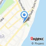 СОГАЗ-Мед на карте Астрахани