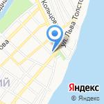 Детская музыкальная школа №4 на карте Астрахани
