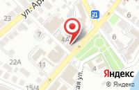 Схема проезда до компании Земельные ресурсы в Астрахани
