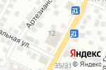Схема проезда до компании Астра Интерьер в Астрахани