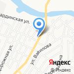 Айвенго на карте Астрахани