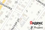 Схема проезда до компании Всероссийское общество автомобилистов в Астрахани