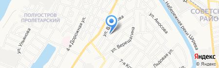 Всероссийское общество автомобилистов на карте Астрахани