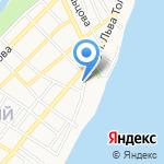Универсальный магазин на карте Астрахани