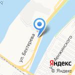На Эллинге на карте Астрахани