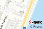 Схема проезда до компании На Эллинге в Астрахани
