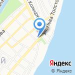 АренА на карте Астрахани