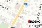 Схема проезда до компании Техник в Астрахани