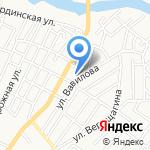 Рахат на карте Астрахани