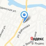 ТАНТОС на карте Астрахани