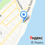 Астраханское Сафари на карте Астрахани