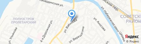 Комфорт-М на карте Астрахани