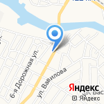 Железяка на карте Астрахани
