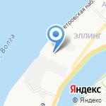 ВТС-Порт на карте Астрахани