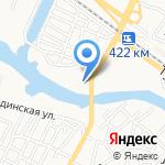 Монолит-А на карте Астрахани