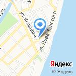 Умка на карте Астрахани