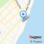 Гигант на карте Астрахани
