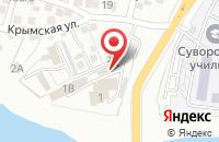 Схема проезда до компании Канцлер в Астрахани