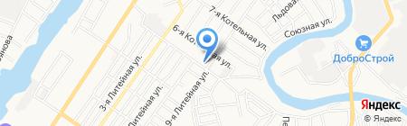 Россельхозцентр на карте Астрахани