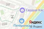 Схема проезда до компании Сердце Каспия в Астрахани