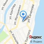 Средняя общеобразовательная школа №64 на карте Астрахани