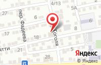 Схема проезда до компании Алмаз в Астрахани