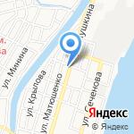Арт-Микс на карте Астрахани