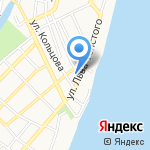 Детский сад №64 на карте Астрахани