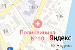 Схема проезда до компании Женская консультация в Астрахани