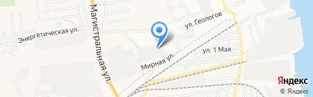 Фундамент на карте Астрахани