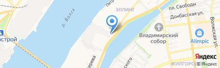 АБСОЛЮТ СТРОЙ на карте Астрахани