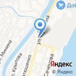 Бетон+ на карте Астрахани