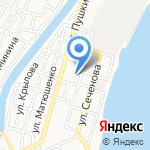 Астраханский технологический техникум на карте Астрахани