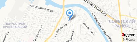 Центр мониторинга транспорта на карте Астрахани