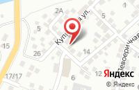 Схема проезда до компании Тысяча и одна ночь в Астрахани