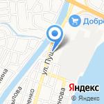 Астромаш на карте Астрахани