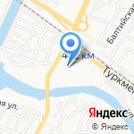 Астраханское суворовское военное училище МВД России на карте Астрахани
