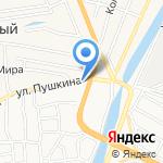 Панавто Ко на карте Астрахани