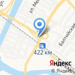 Страховая компания на карте Астрахани