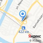 Магазин автозапчастей для иномарок на карте Астрахани