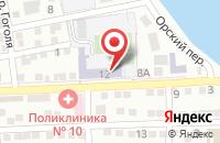 Схема проезда до компании Средняя общеобразовательная школа №20 в Астрахани