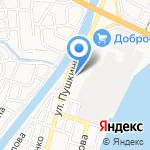Мецар на карте Астрахани