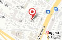 Схема проезда до компании Астраханская региональная энергетическая компания в Астрахани
