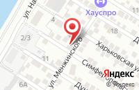 Схема проезда до компании АвтоКран-Пермь в Александровке