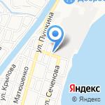 Окна-Гранд на карте Астрахани